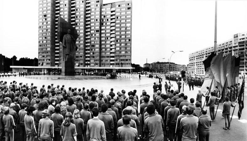 Berlin, Lenin-Denkmal am Leninplatz